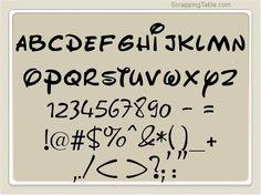 Great FREE Cricut fonts..