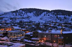 Park City, UT.  One of the most fun places to snowboard. Cant wait to be here in a few months!!