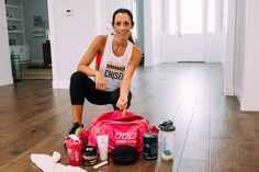 Autumn Calabrese's gym bag essentials-- (For Hammer & Chisel and 21 Day Fix) they help ensure I get the best out of my gym time!   Shaker Cup  Beachbody Performance Hydrate & Energize Headphones Chapstick  Towel  Extra hairbands  Face cleanser for post workout  What are your gym bag go-tos?
