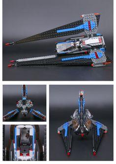 LEPIN Star War Genuine Series The Tracker I Fighter Building Blocks Toys - Blocks