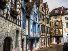 The Medieval Town of Auxerre, France