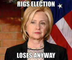 """You really have to a terrible candidate to blow it so BIG, even though """"The Fix"""" was in !!!"""