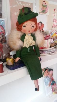 Nora Charles~Doll by Curious Pip