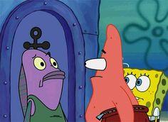 "24 Times Patrick Star Was The Funniest ""SpongeBob"" Character Cartoon Shows, Cartoon Characters, Patrick Star Funny, My Wifes Sister, Funny Spongebob Memes, Spongebob Patrick, Animation, Spongebob Squarepants, Spongebob Memes"