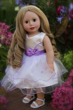 "Beautiful 18"" Doll, Sara Grace by Harmony Club dolls. Visit www.harmonyclubdolls.com"
