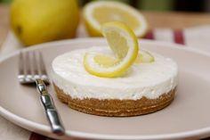 Italiaanse limoncello cheesecake