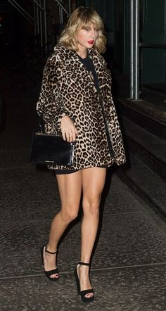 Taylor Swift in A.L.C. out in NYC. #bestdressed