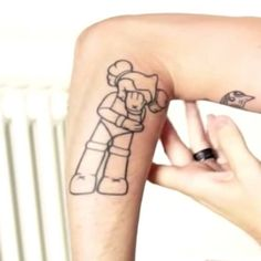 PewDiePie   Forearm tattoo on PewDiePie Inspired by a work by...