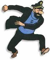 "Kapitein Haddock ""Duizend bommen en granaten"""