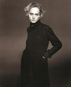 ☆ Amber Valletta | Photography by Peter Lindbergh | For Jil Sander Campaign | Spring 1994 ☆