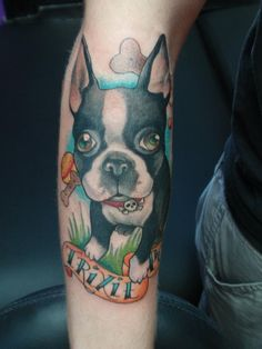 "English bulldog ""Trixie"" - Lower arm piece"