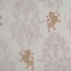 Natural Classical Brocade Fabric by the Yard | Mood Fabrics
