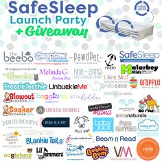 SafeSleep just launched the BreatheTHRU crib mattress on Kickstarter so let's party!  Enter for a chance to win 40 baby gifts   a $200 Visa Gift Card.
