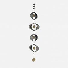 "Gene Montez Flores ""Sun Center"" Hanging Candelabra Sculpture image 2"