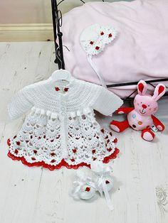 Crochet - Children & Baby Patterns - Gift Patterns - Flora Rosa Set