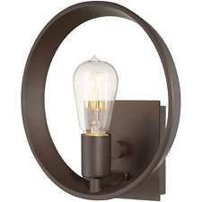 Quoizel Lighting Uptown Theater Row Wall Sconce In Western Bronze UPTR8701WT
