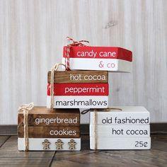 Christmas Minis, Christmas Wood, Country Christmas, Christmas Projects, Christmas Holidays, Christmas Decorations, Christmas Coffee, Christmas Recipes, Christmas Ideas