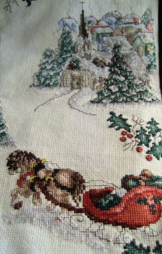 Cross Stitch Christmas Treasures