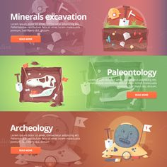 Education and Science banner set by painterr on @creativemarket