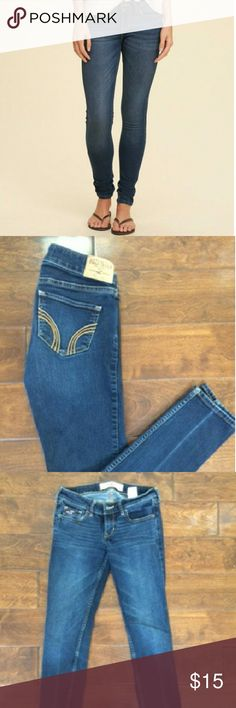Hollister Jeans Like new only worn a couple times.  I hoard pants I am  beginning to notice. So these Really need a new home before I change my mind and keep them. Feel free to ask questions or bundle. Hollister Jeans