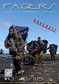Bimestriel GRATUIT des militaires français de défense et de sécurité de la Zone Sud de l'océan Indien (Réunion/Mayotte) - N°10 - www.fagers.fr #FAZSOI, #Gendarmerie de la Réunion, #RSMAR Au sommaire : les actualités, les #Dragons du #13eRDP sur l'île intense, l'exercice AMILCAR et la Section Commando d'Appui à l'Engagement du #2eRPIMa, la Brigade Franco-Allemande sur  le parcours nautique du CATR, la CFP5 du RSMA-R, le portrait d'un gendarme motocycliste, … etc