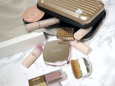 Keep These Things In Your Emergency Bag Giorgio Armani Beauty, Givenchy Beauty, Kokie Cosmetics, Mini Makeup Bag, Mini First Aid Kit, Chanel Les Beiges, Emergency Bag, Aesthetic Makeup, Luxury Beauty