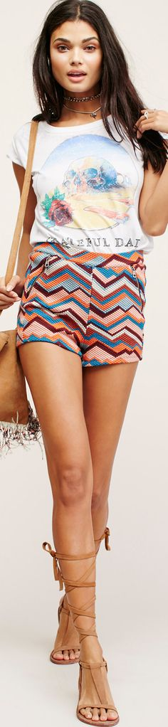 Free People Floyd High Rise Shorts