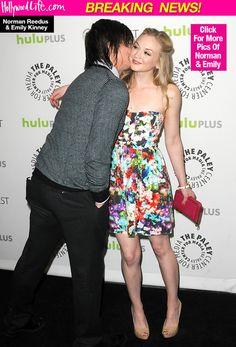 Emily Kinney & Norman Reedus Dating: 'Walking Dead' Stars FindLove