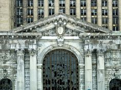 What was once a bustling business hub is now a ghostly reminder of Detroit's economic status. The Michigan Central Station welcomed hundreds of trains every day after officially opening in 1914. Rail traffic began to dwindle, however, and the station struggled for several decades before closing in 1988.