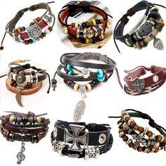 Retro rope leather mens bracelets leather rope hand woven bracelet for men rope braided bracelet male female bracelet Jewelry - B E S T Online Marketplace - SaleVenue Braided Bracelets, Bracelets For Men, Bangle Bracelets, Men's Leather Bracelets, Mens Bracelet Fashion, Fashion Accessories, Fashion Jewelry, Bracelet Cuir, Chains For Men