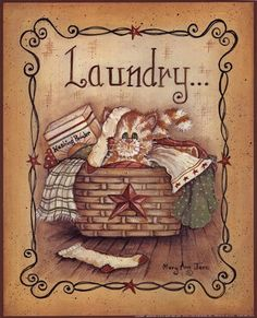 Mary Ann June - Laundry