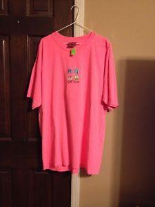 Women's Large Gulf Shores Shirt: Pink (New)