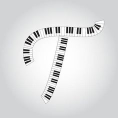 Letter T, Piano, Music Class, Musicals, Symbols, Alphabet, Musik, Pianos, Glyphs