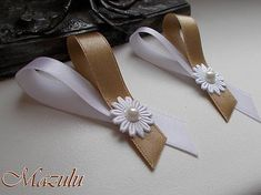 Diy Bow, Diy Ribbon, Bros Pita, Ribbons Galore, Wedding Bows, Flower Crafts, Corsage, Hearts, Wedding Inspiration