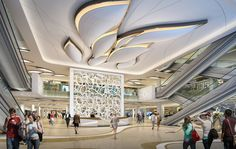 Shopping Mall || Image URL: http://www.3dhousedownload.com/wp-content/uploads/2014/05/Large-shopping-mall-elevator-lobby-design-3D.jpg