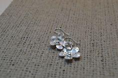Sterling silver flower earrings £15.00