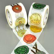 Image of Envelope Seals Washi Tape