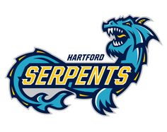 Hartford Serpents Identity by 343 Creative , via Behance