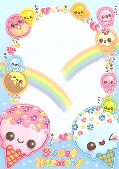 Kawaii memo - Sweet Harmony - Shine!!!