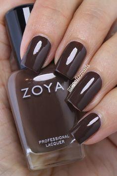 Zoya - Desiree Fall Nail Polish, Zoya Nail Polish, Nail Polish Colors, Manicure And Pedicure, Mani Pedi, Nails Only, Love Nails, How To Do Nails, Fun Nails