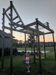 Ever wondered how to build a backyard ninja warrior obstacle course? Ever wondered how to build a ba Backyard Gym, Backyard Obstacle Course, Backyard For Kids, Backyard Projects, Backyard Ideas, Ninja Warrior Gym, Ninja Warrior Course, American Ninja Warrior, Personal Training Courses