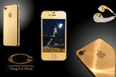 iphone 4s 24ct gold Ambassador Edition