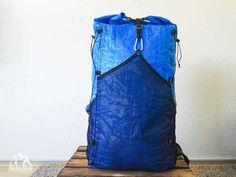 Rucksack nähen Rucksack selber machen aus Ikea Tasche Frakta