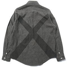 HAVEN — LS Big X Chambray Shirt