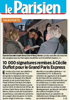 Grand Roissy : mobilisation pour le Grand Paris Express. RP : Manifeste
