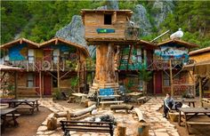 Kadir's Tree House, Olympos, Turkey   Lifehack's list of top hostels in Europe.