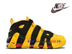 new style d707d e56a8 Nike Air More Uptempo Bruce Lee 414962-700 Noir   jaune Flight Club Est Le