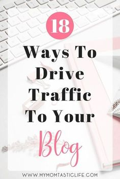 I'm here to answer the big question on every blogger's mind: How do you drive traffic to your blog? I wish the answer was simple, but it's the combination of several practices that will ultimately bring you success. There are so many websites out there, it can be hard to get noticed. You can't just publish your site and expect people to be able to find it; it takes some serious work! Mom Blog | How to Blog | Blogging | Blogging for Beginners