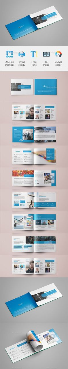 A5 Brochure Template InDesign INDD
