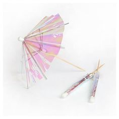Da.Wa 140x Paper Cocktail Umbrellas Stick Cocktail Parasols Party Wedding Supplies Hawaiian Theme Decoration